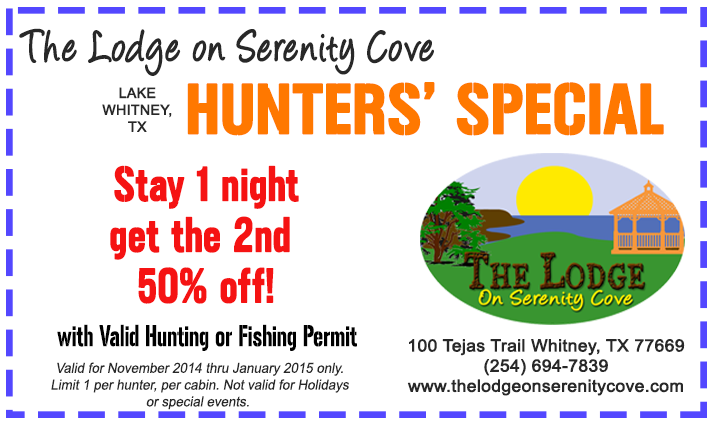Lake Whitney Hunters' Special